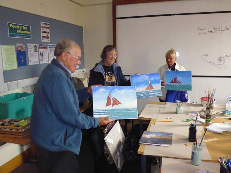 John Turk maritime workshop